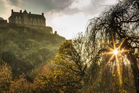 HeraldScotland: Edinburgh Castle from Princes Street Gardens
