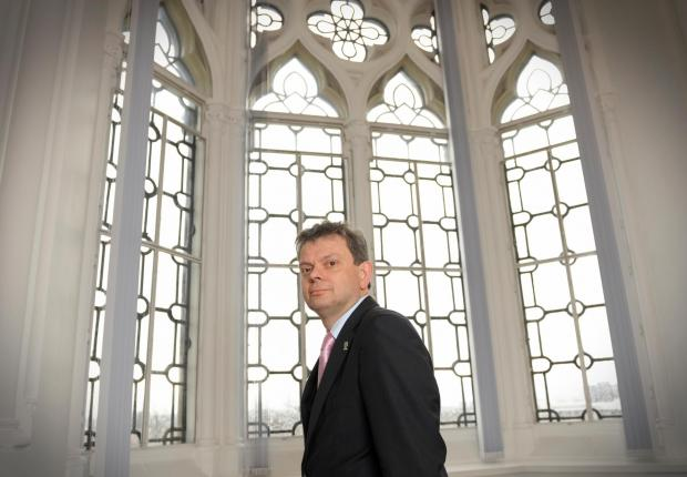HeraldScotland: Glasgow University Principal Anton Muscatelli photographed at Glasgow University. Picture: Kirsty Anderson