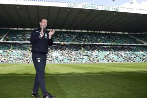PROUD: 'I was so happy that Brendan Rodgers was coming after me,' says Ronny Deila