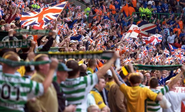 HeraldScotland: Most football fans can behave even in a derby but there are always the feckless few who ruin things