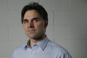 Portrait of Herald journalist Stephen Naysmith. Photograph by Colin Mearns 30 January 2013