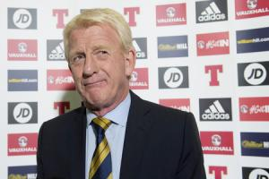 Scotland manager Gordon Strachan as he announced his squad for the Russia 2018 qualifier against England yesterday.