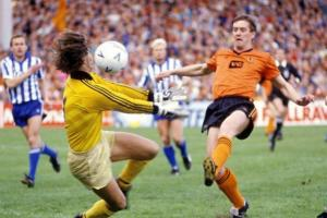 TANGERINE DREAM ENDS: Gothenburg just edged out Dundee United in the UEFA Cup final.