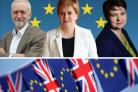 Party leaders set out vision of UK future with Europe