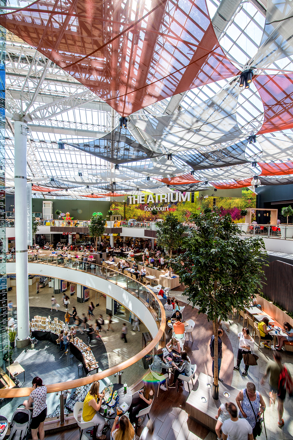 EAT AND BE MERRY: St Enoch Centre's food court boasts an incredible variety of options.