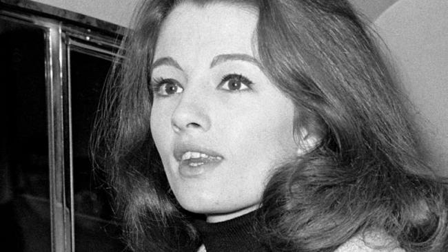 Christine Keeler, photographed at the height of the Profumo scandal