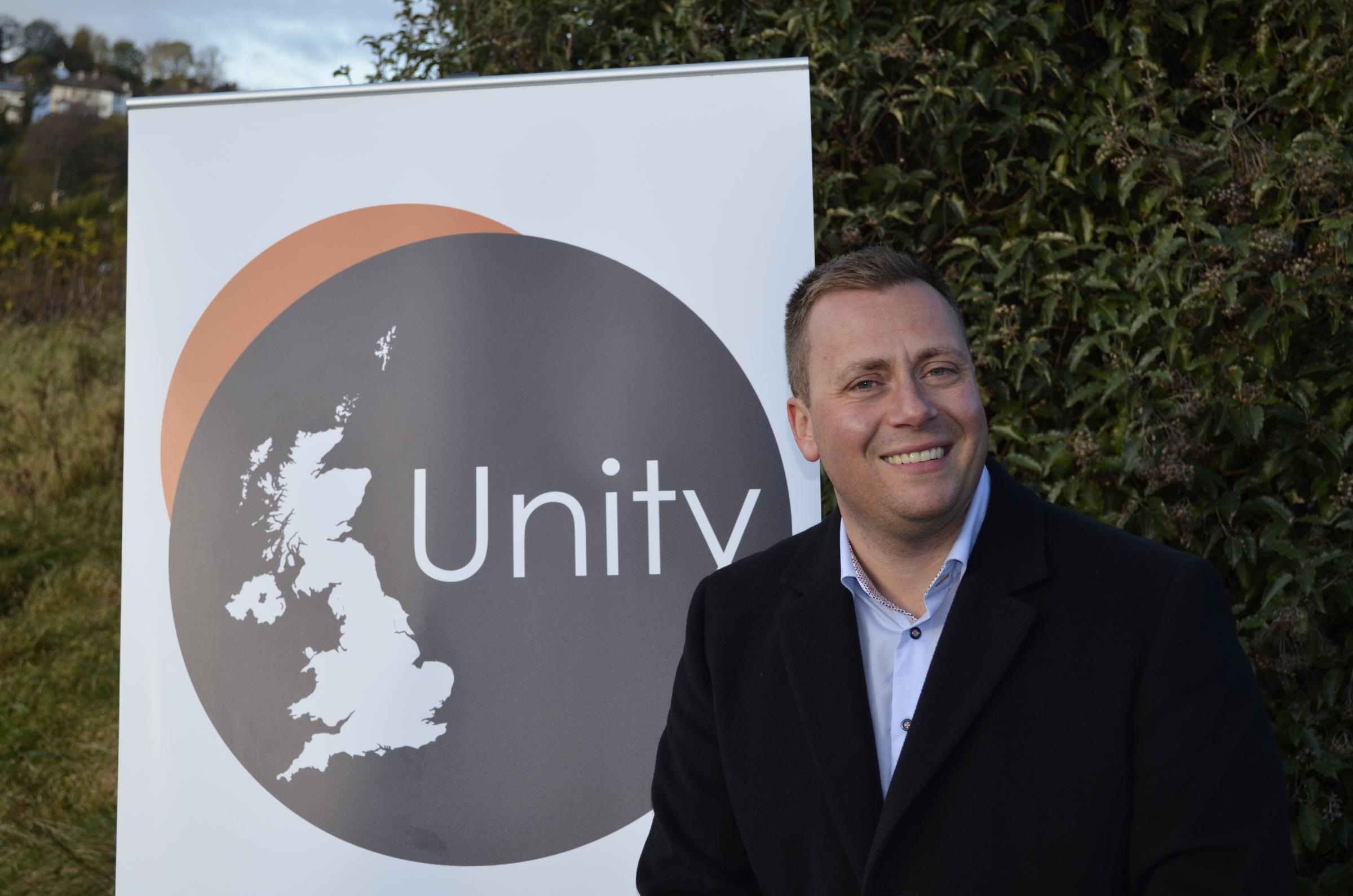 David Clews of UK Unity