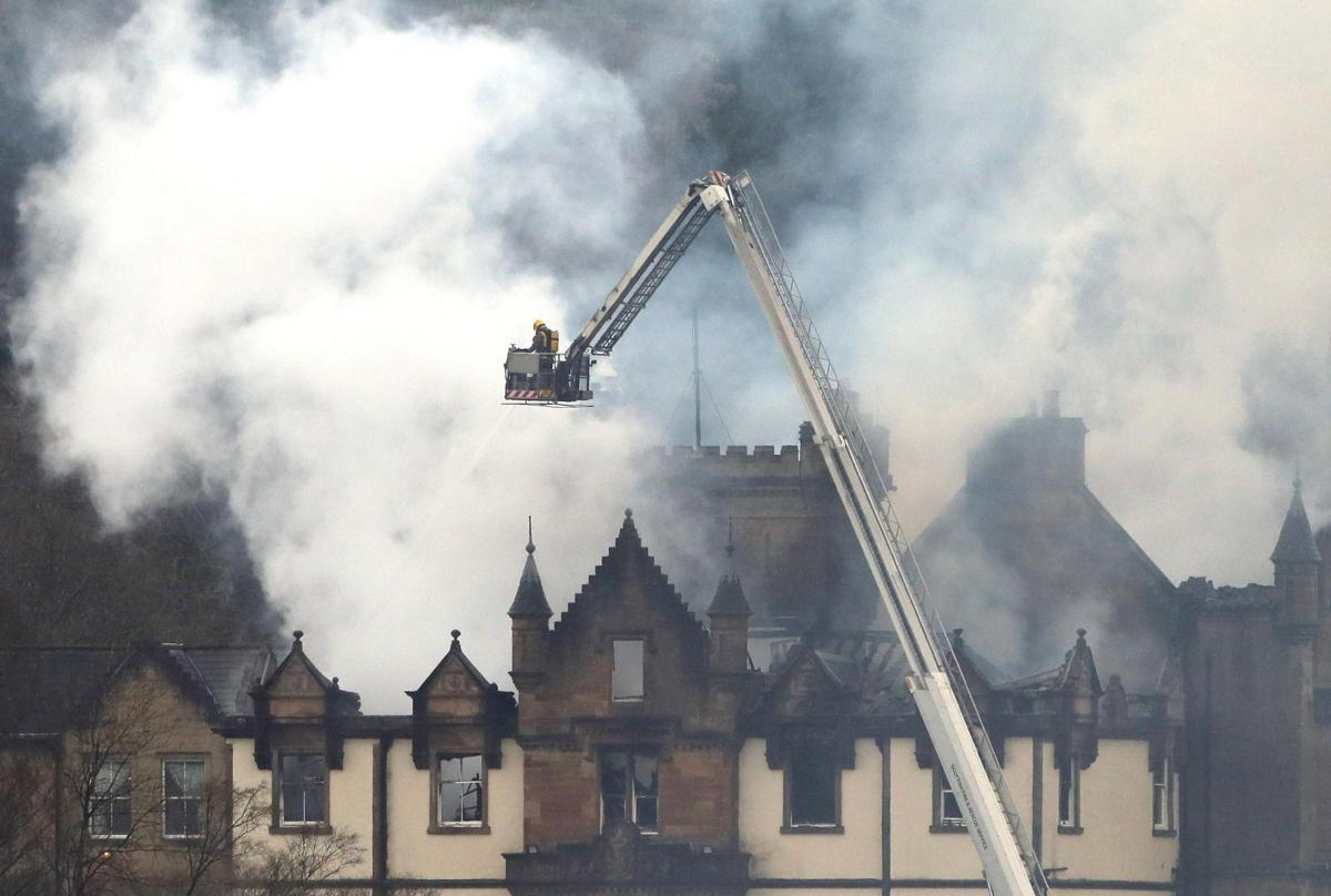 Two people died in blaze at Cameron House hotel