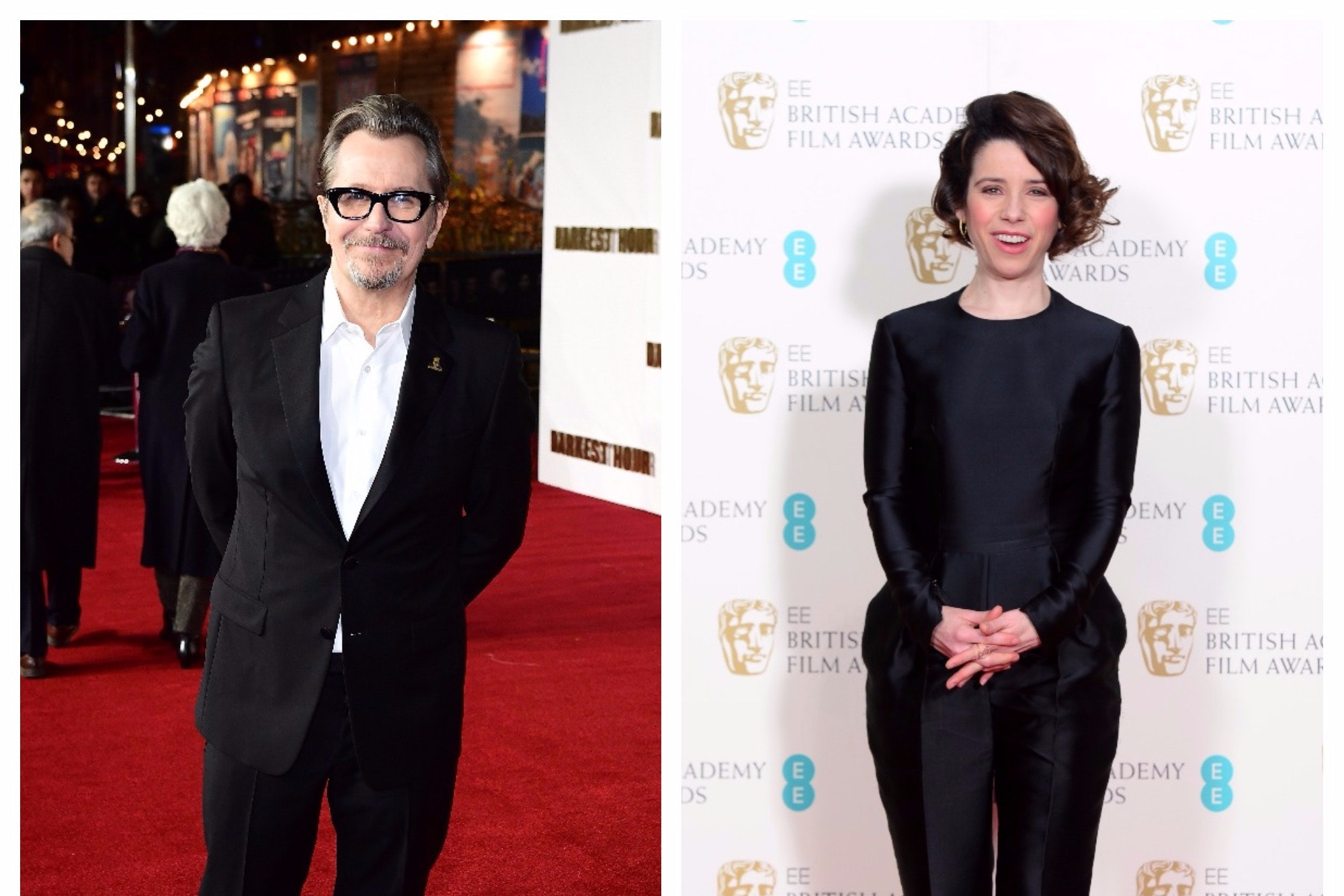 Gary Oldman and Sally Hawkins (PA)