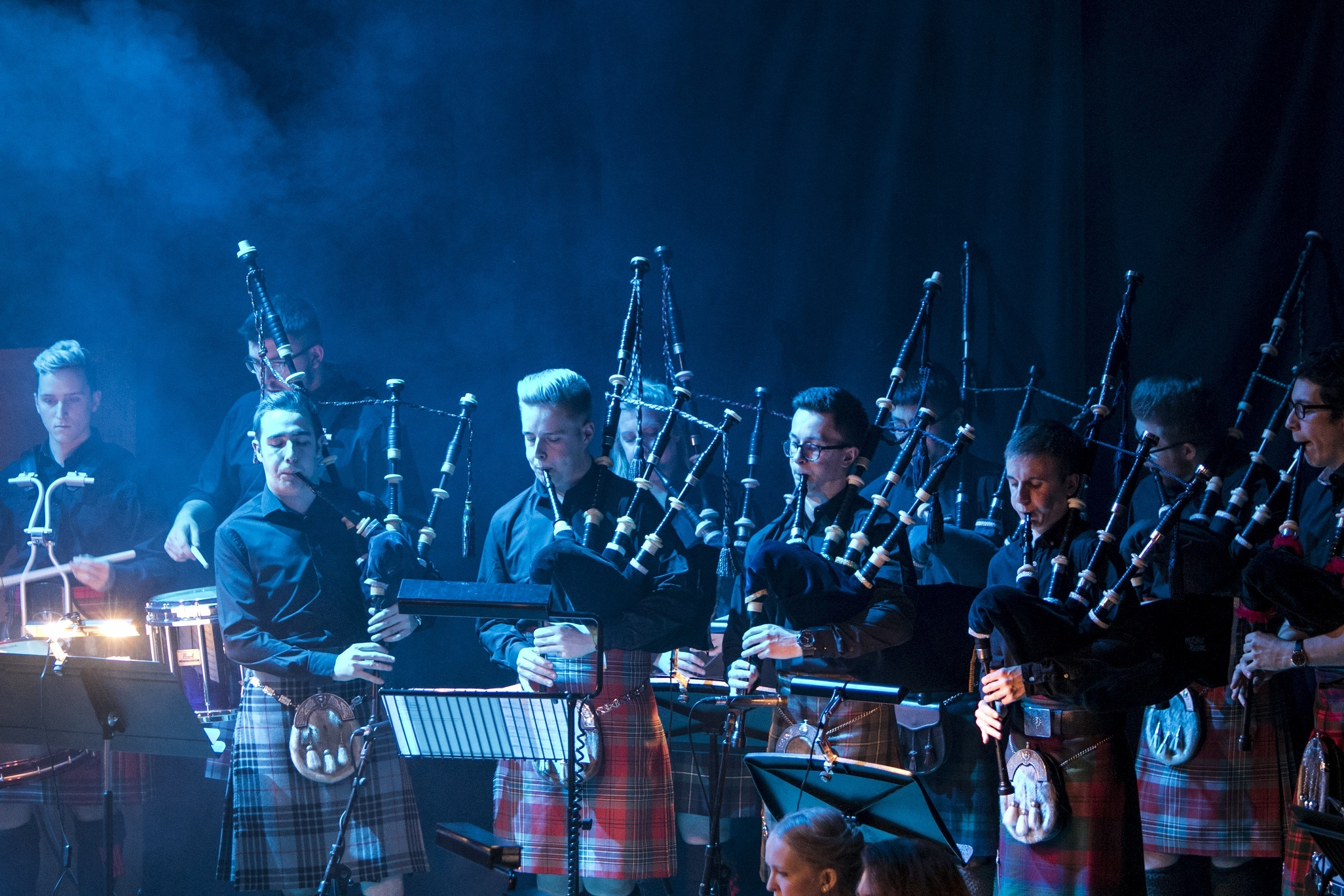 RCS student performing at Celtic Connections. Picture: Julie Howden
