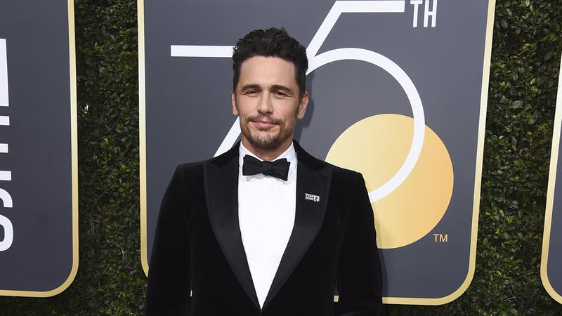 James Franco says sexual harassment claims are 'not accurate'