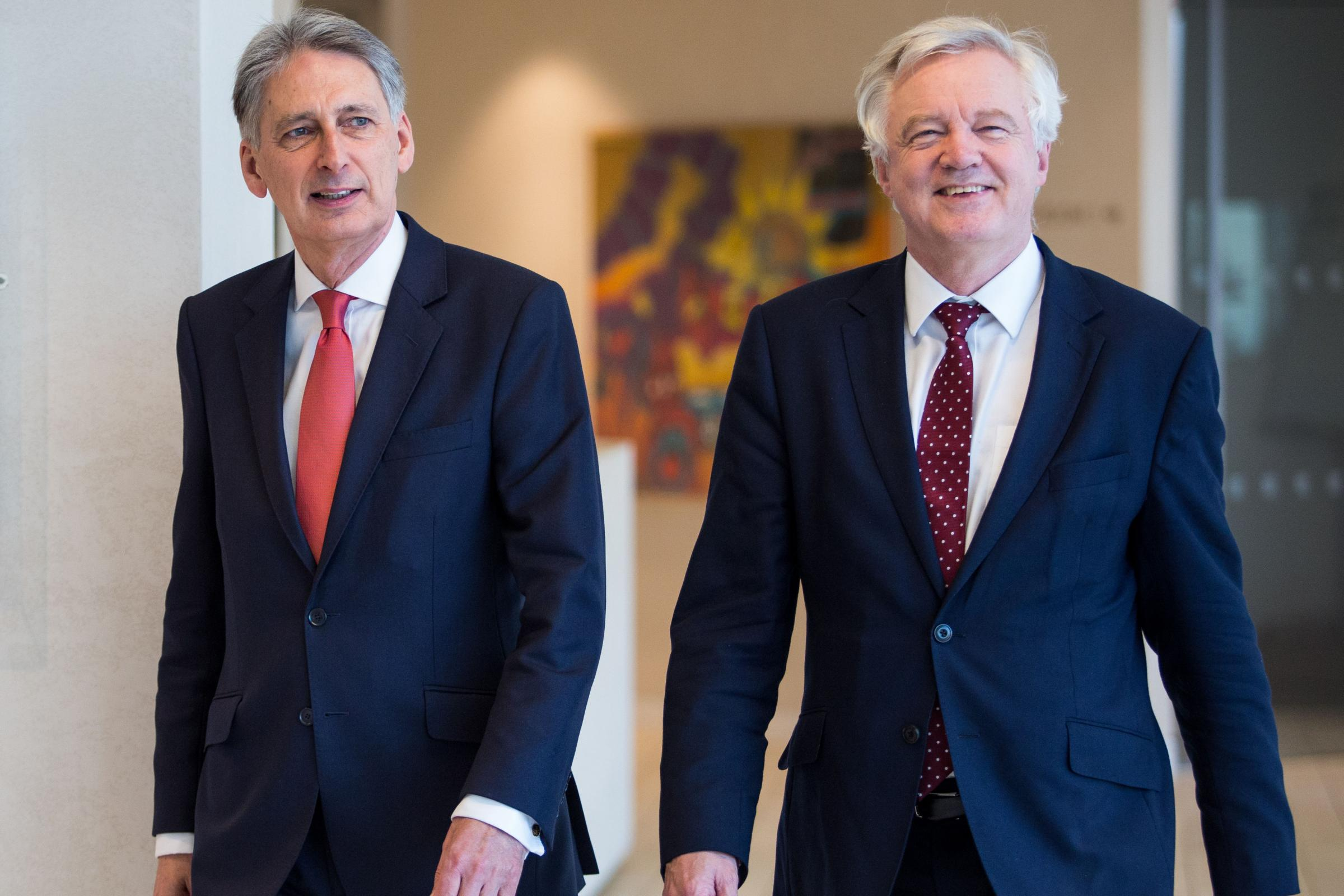 Two to tango: Hammond and Davis embark on Brexit charm offensive