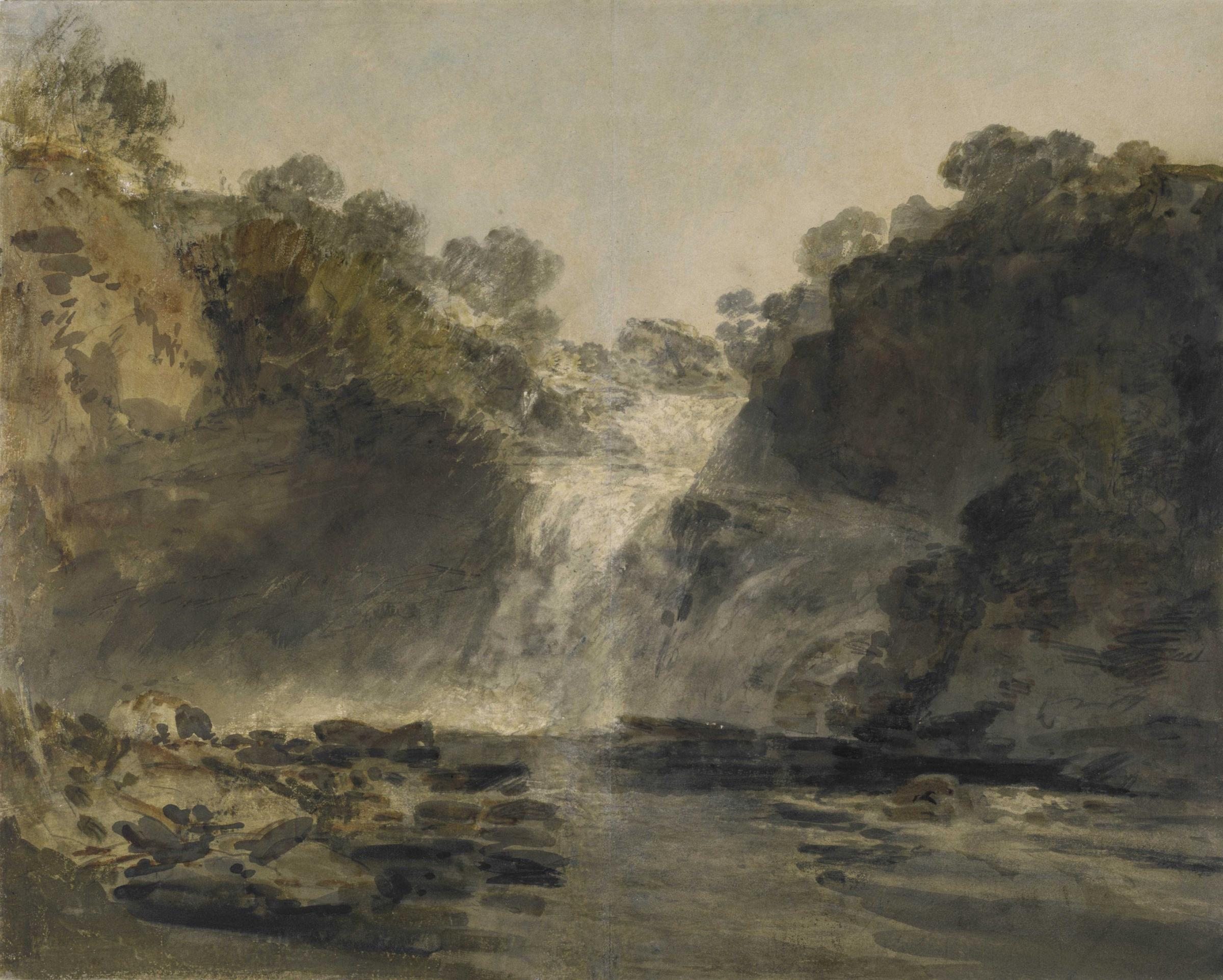 The Falls of Clyde, JMW Turner