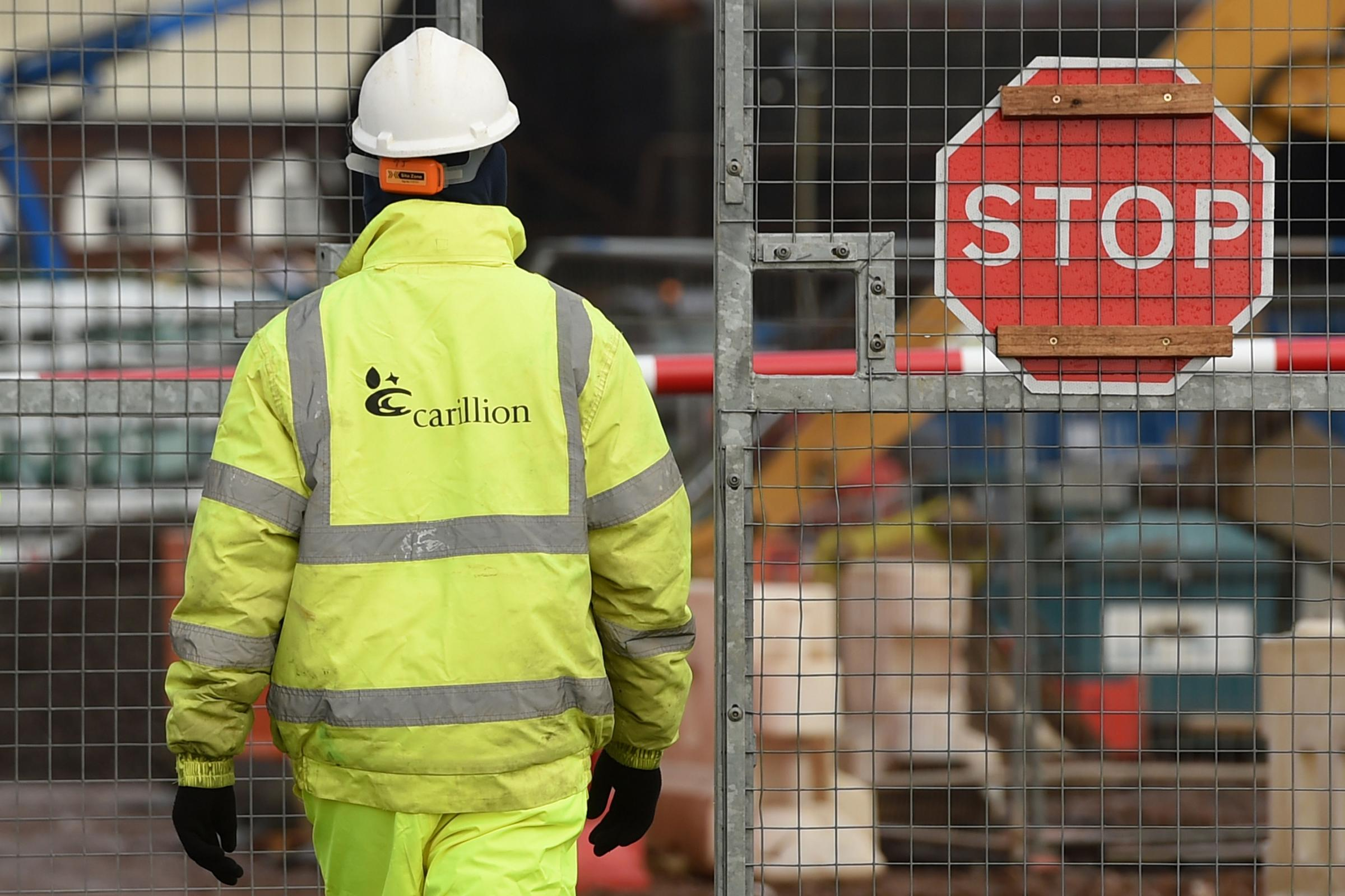 Carillion's collapse means the Pension Protection Fund is likely to take over its pension schemees. Picture: Joe Giddens/PA Wire.