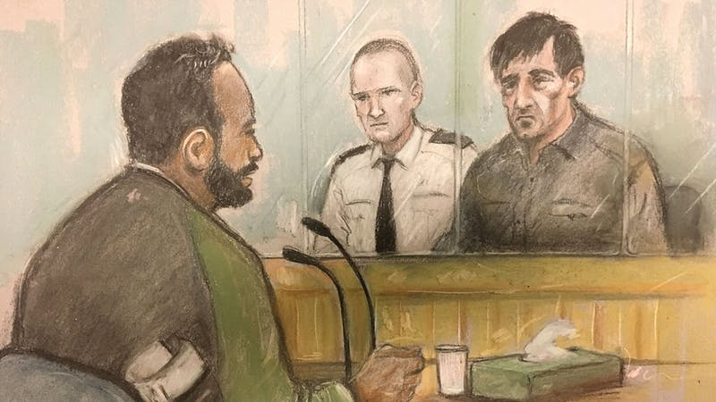 Finsbury Park terror trial told no evidence of more than one person in van