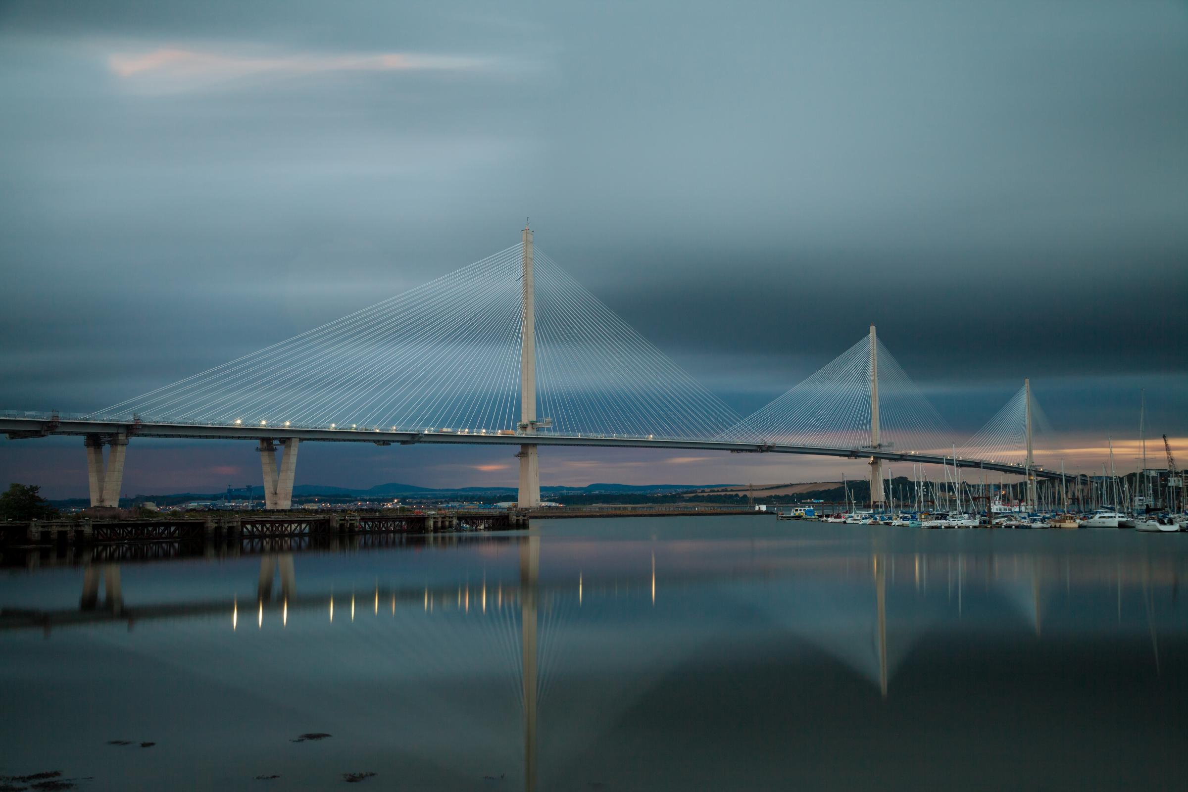 The Queensferry Crossing. Photograph: Transport Scotland.