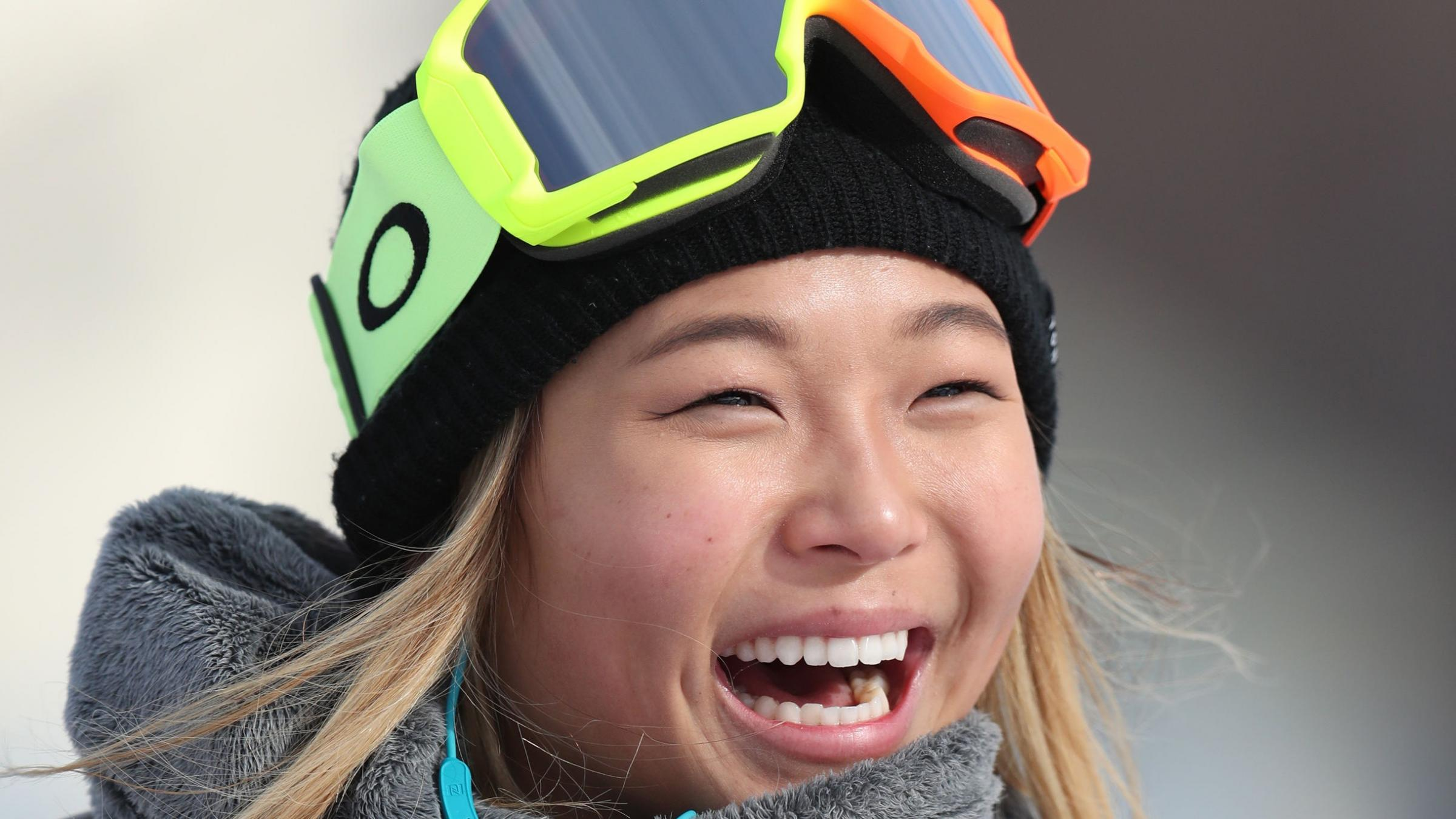 Near-perfect performance lands gold for snowboard prodigy Chloe Kim