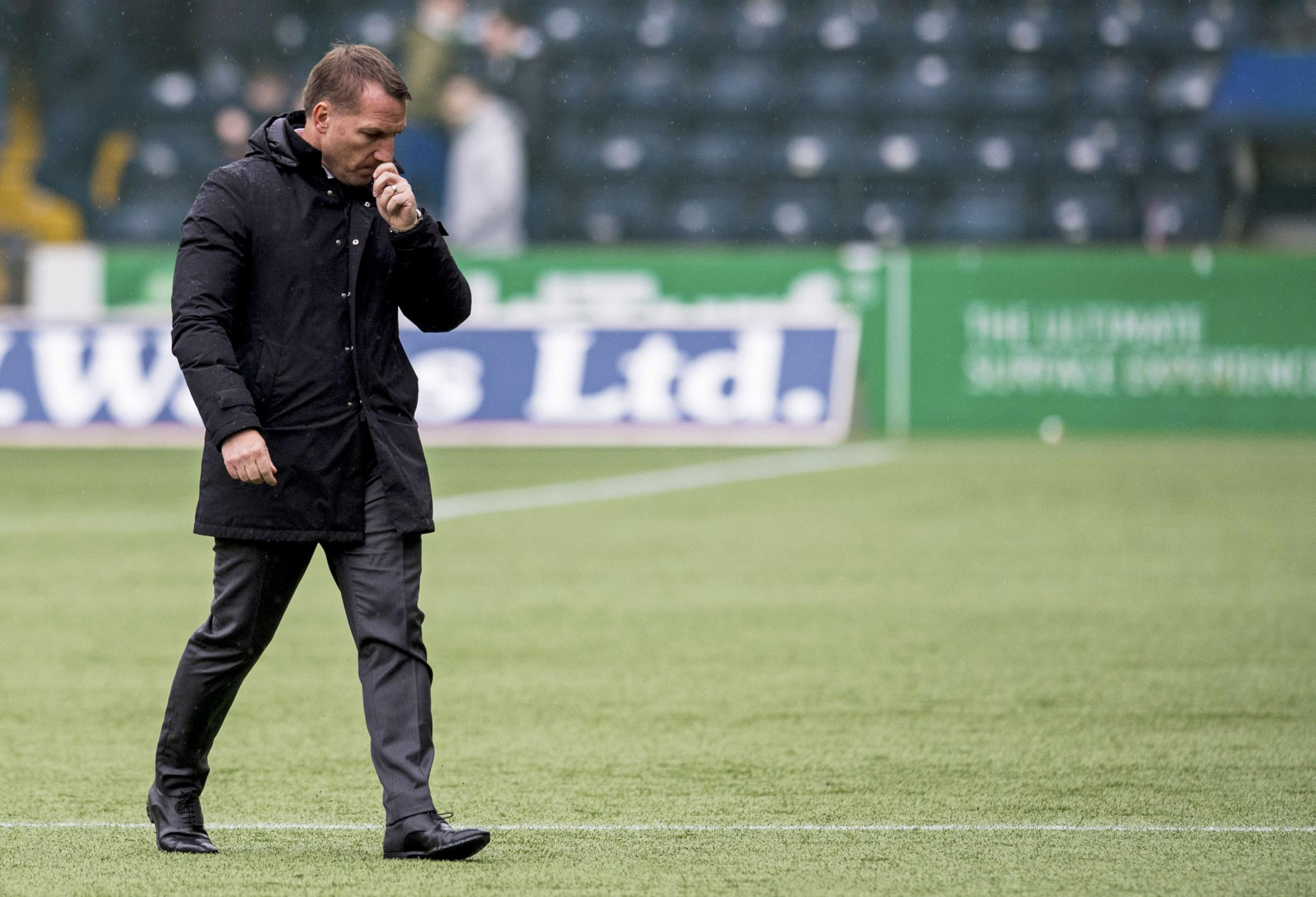 Brendan Rodgers has not been impressed with Celtic's last two defensive displays