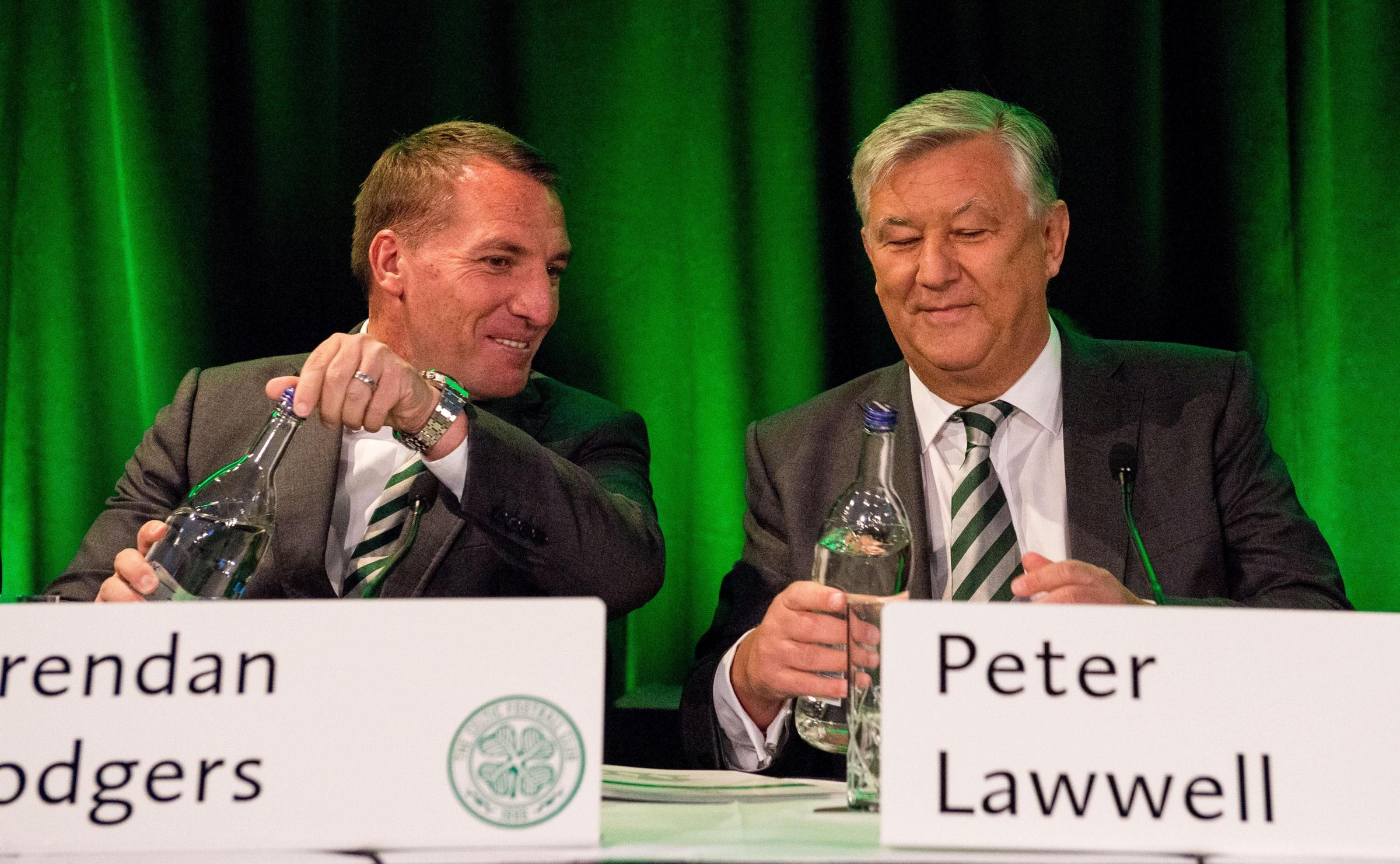Celtic Chief Executive Peter Lawwell has managed to the club to a healthy bank balance