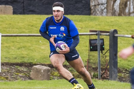 Stuart McInally has been in inspired form for Scotland