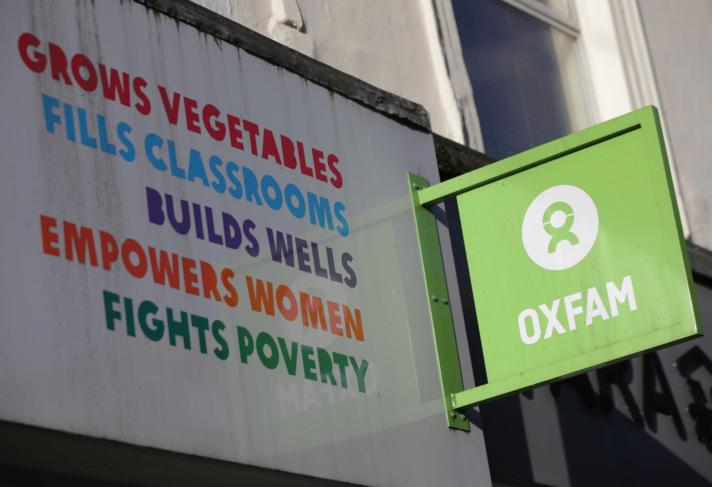 Oxfam has been engulfed by the aid worker sex scandal. Picture: Yui Mok/PA Wire.