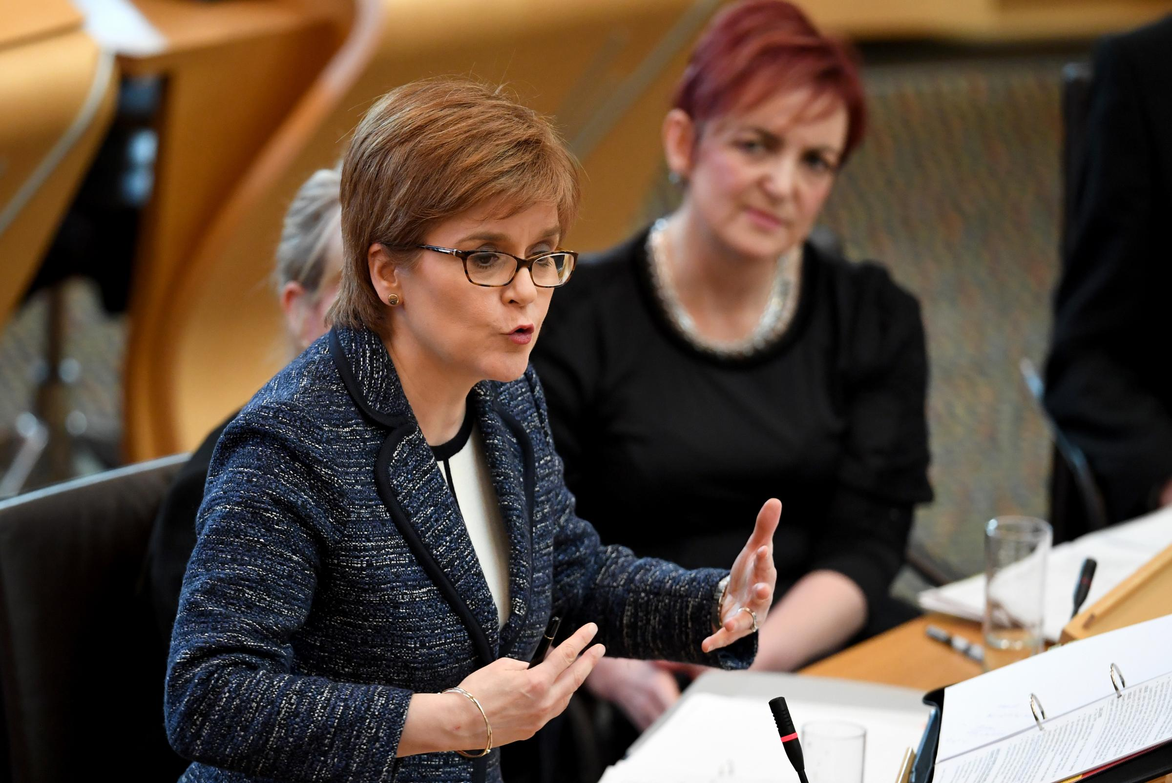 Nicola Sturgeon defends the Scottish Government's record on the NHS