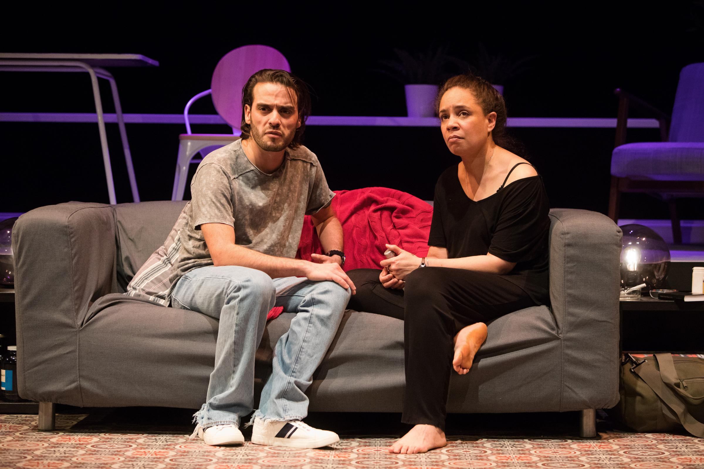 Theatre reviews: The Mothef**ker With The Hat and Rishta