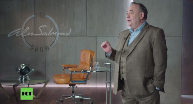 Useful idiot? Salmond under more pressure to quit RT chat show