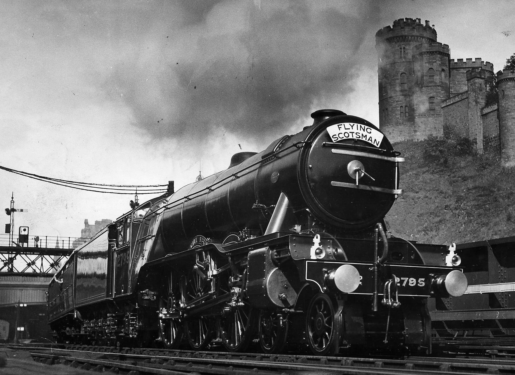 THOSE WERE THE DAYS1932: Full steam ahead for a record time to King's Cross