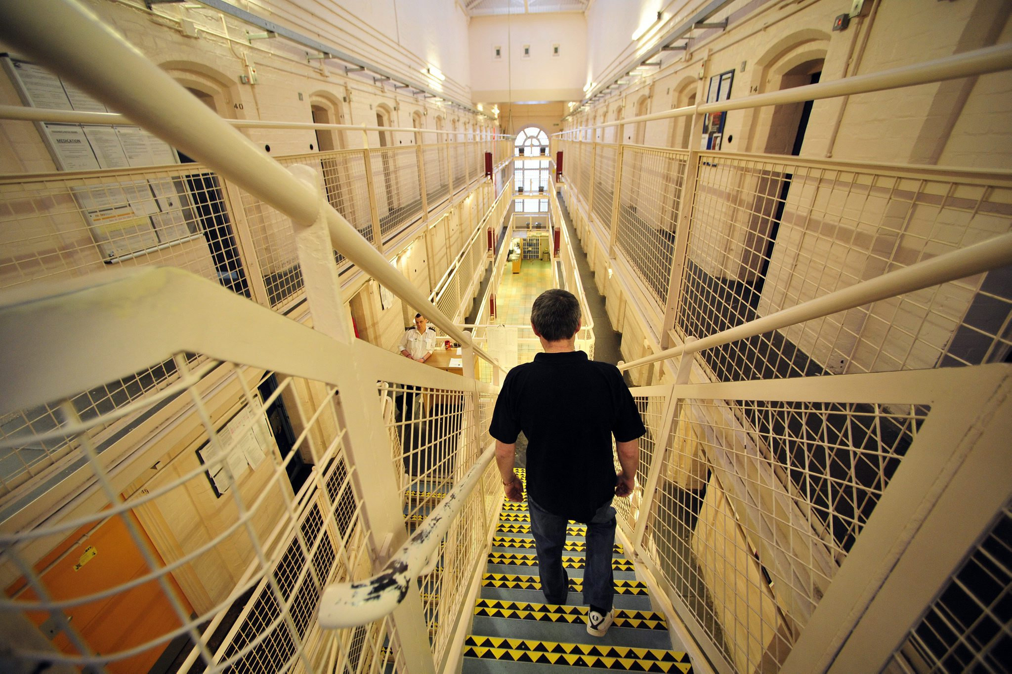 Inside shot of HMP Barlinnie, in Glasgow
