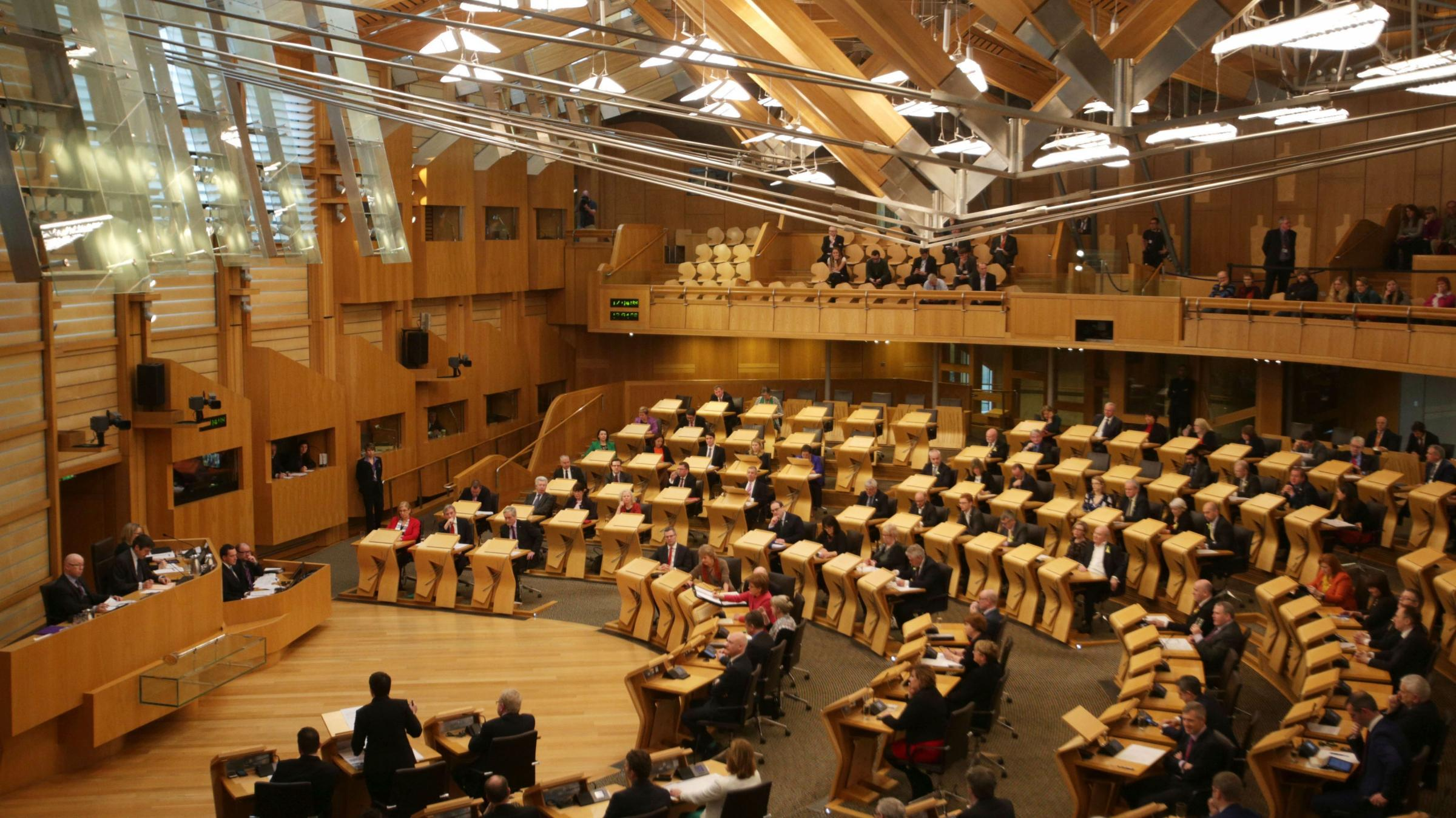 Holyrood goes into overtime as MSPs consider Brexit Bill