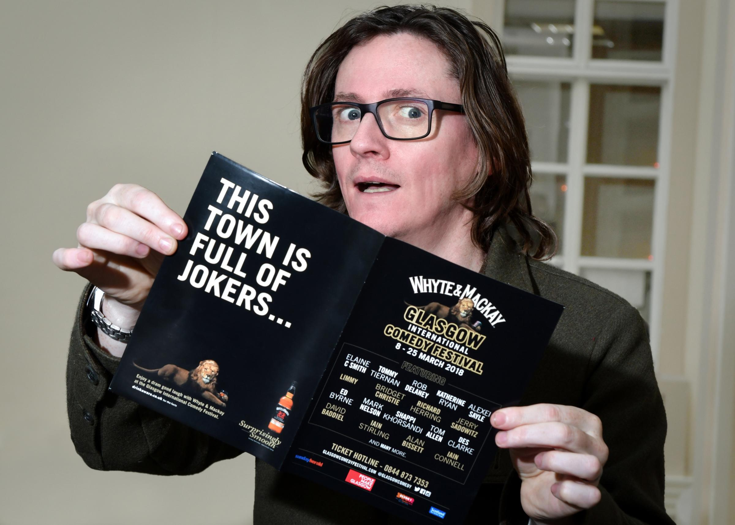 Ed Byrne is just one of many top tier comedy stars at the Glasgow International Comedy Festival