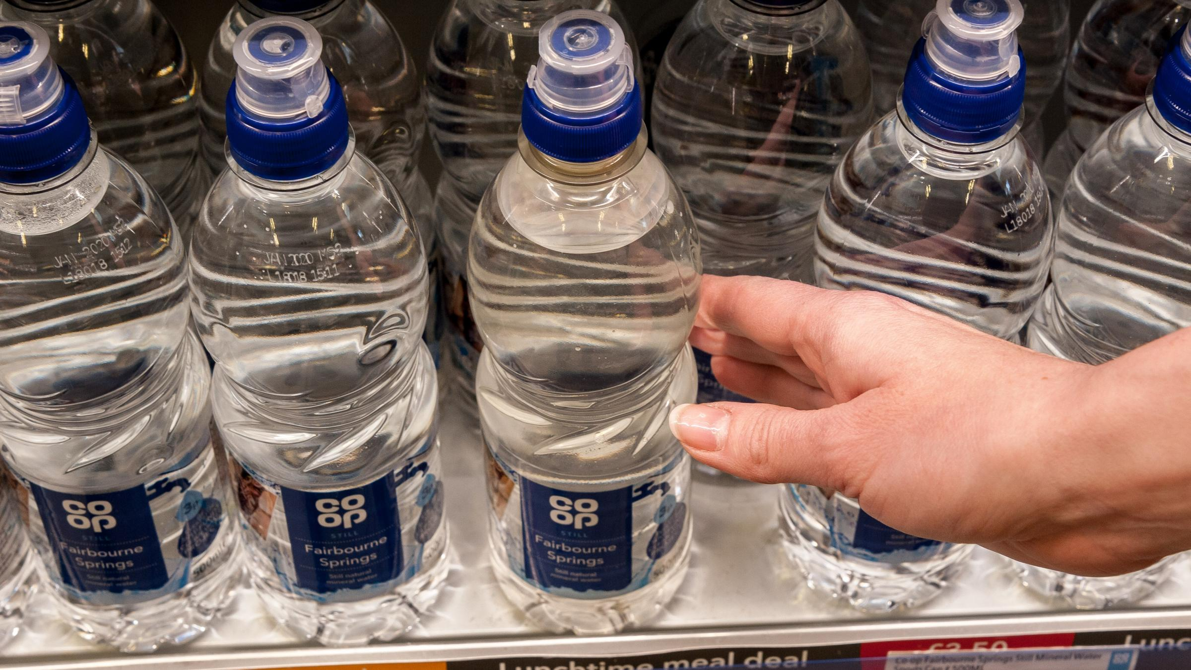 Co-op trials 'reverse vending machines' at festivals to boost bottle recycling