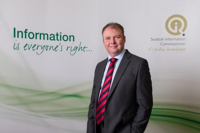 Daren Fitzhenry, Scottish Information Commissioner.
