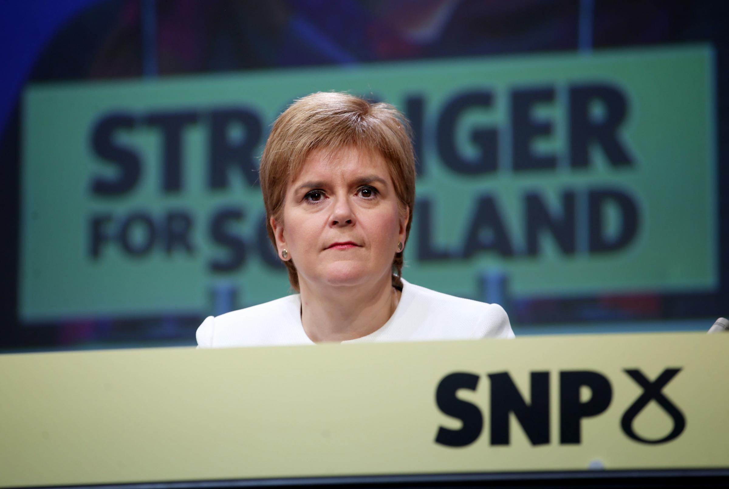 Only 1 in 4 back Sturgeon calling for second independence referendum this autumn