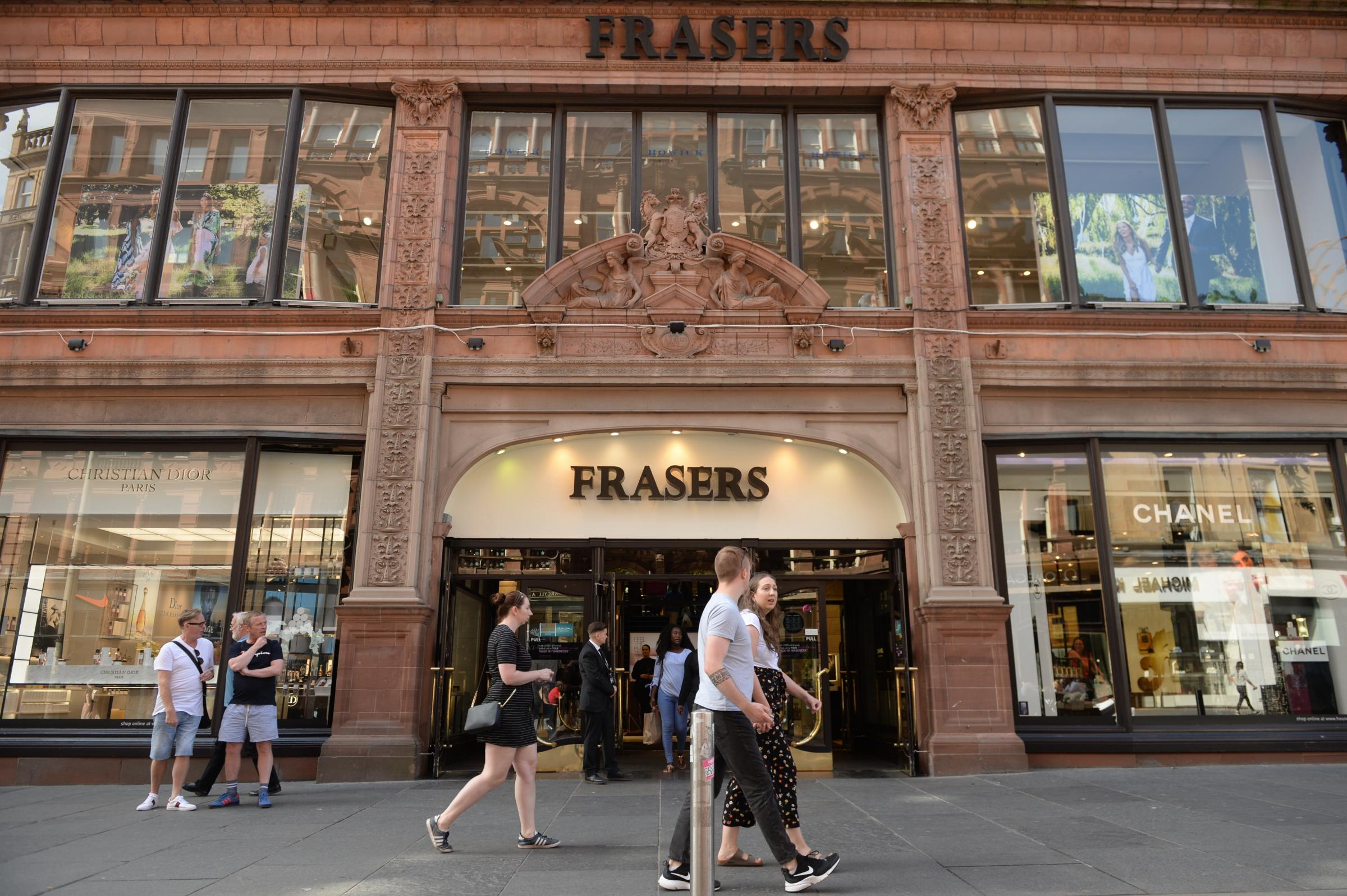 Frasers' flagship store on Buchanan Street has been on the site for 170 years. Picture: Kirsty Anderson
