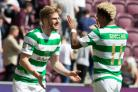 Stuart Armstrong looks as though he is heading for the exit door at Celtic Park. (Picture: Jeff Holmes/PA Wire)