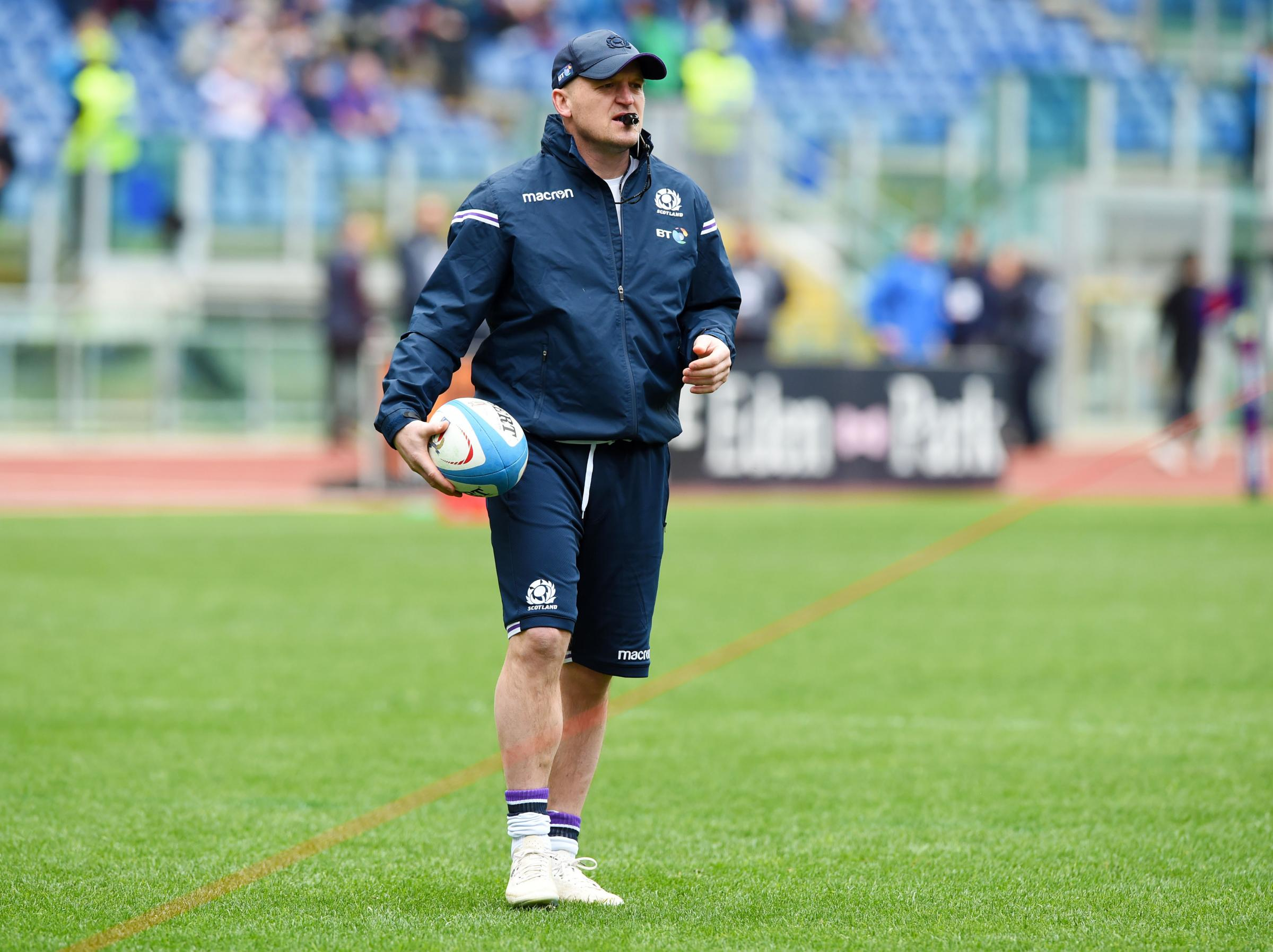 17/03/18 NATWEST SIX NATIONS . ITALY v SCOTLAND. ROME - ITALY . Scotland head coach Gregor Townsend.