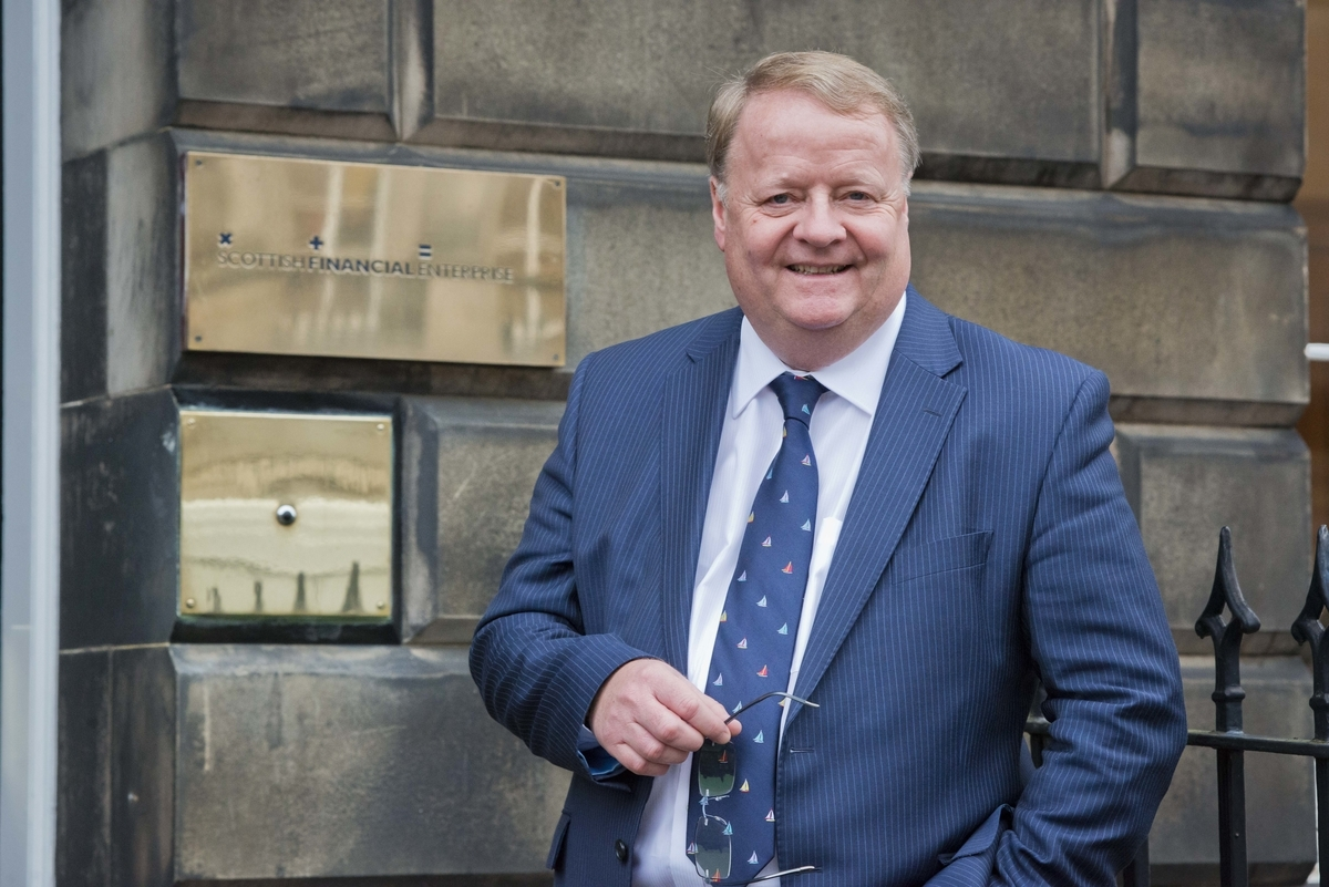 Scottish Financial Enterprise chief executive Graeme Jones