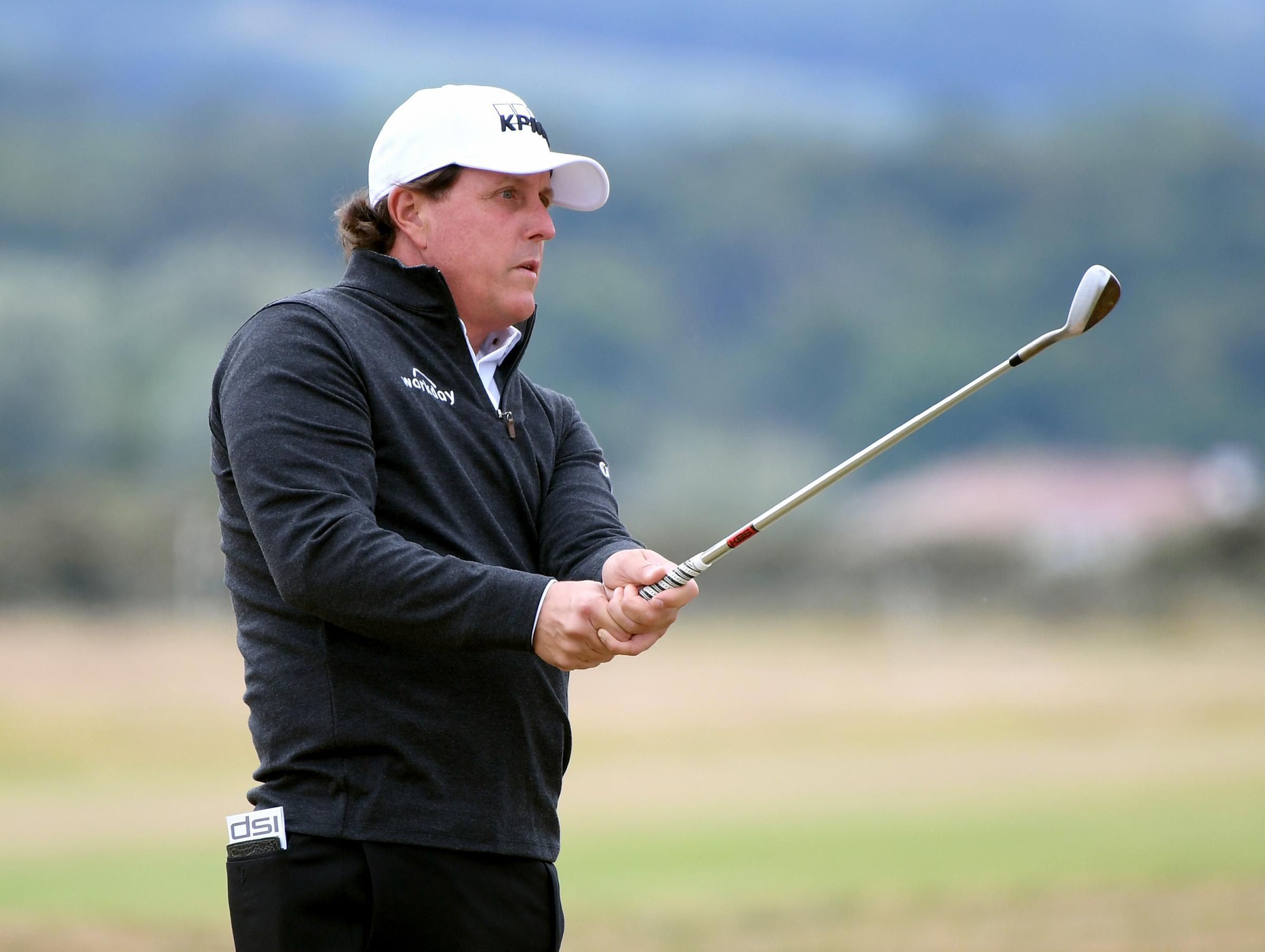 Big name: Phil Mickelson is one of the star attractions at the Scottish Open (Picture: Getty)