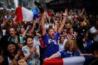 Rain doesn't put the dampener on French World Cup win
