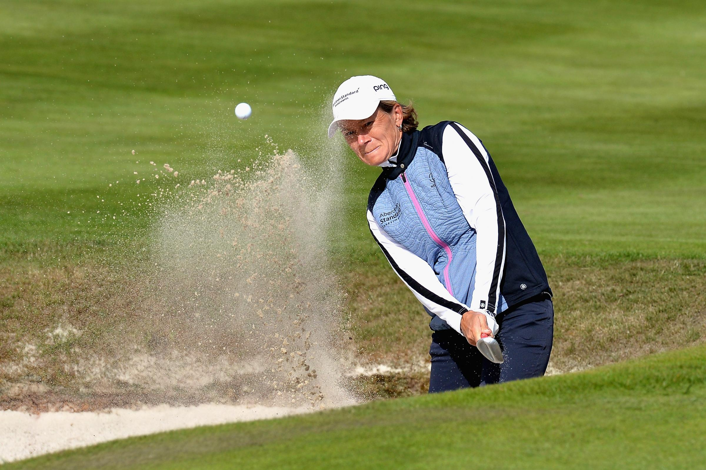 Top cat: Catriona Matthew helped her Team GB to another win at Gleneagles (Picture: Getty)