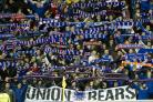 Rangers fan march spoils pensioner's birthday