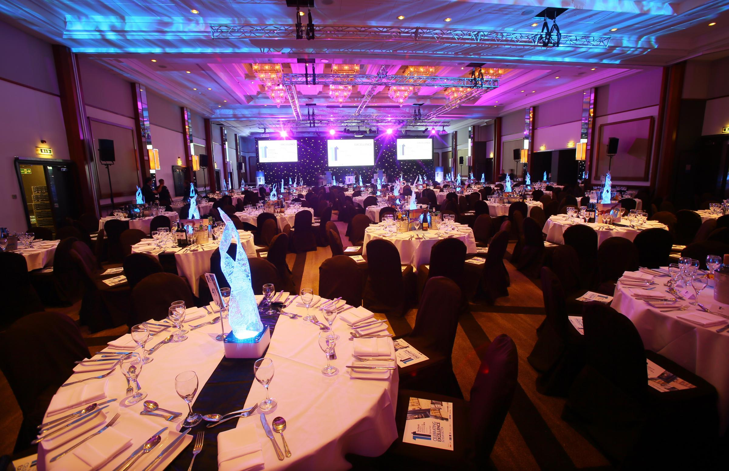 TOP TABLES: Nominees and guests will enjoy a wonderful night of hospitality at the Herald Property Awards For Scotland 2018