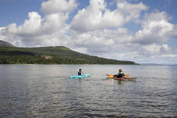 HeraldScotland: Sea Kayaking Arran