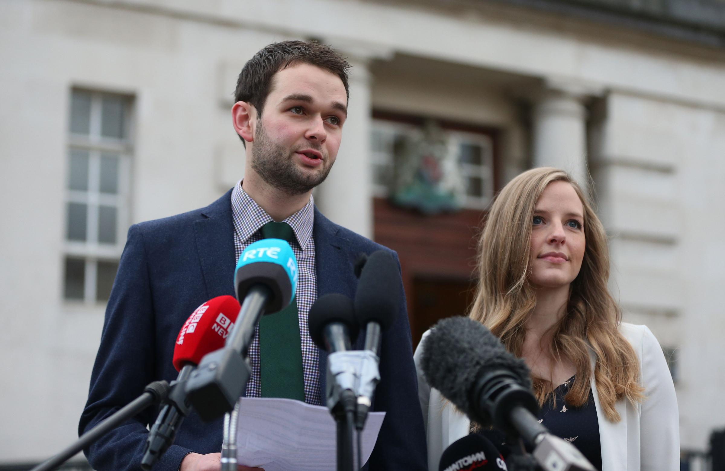File photo dated 00/00/00   File photo dated 24/10/16 of Daniel and Amy McArthur of Ashers Baking Company. The UK's highest court is to give its ruling on whether the Christian owners of theÊbakery discriminated against a customer by refusing to
