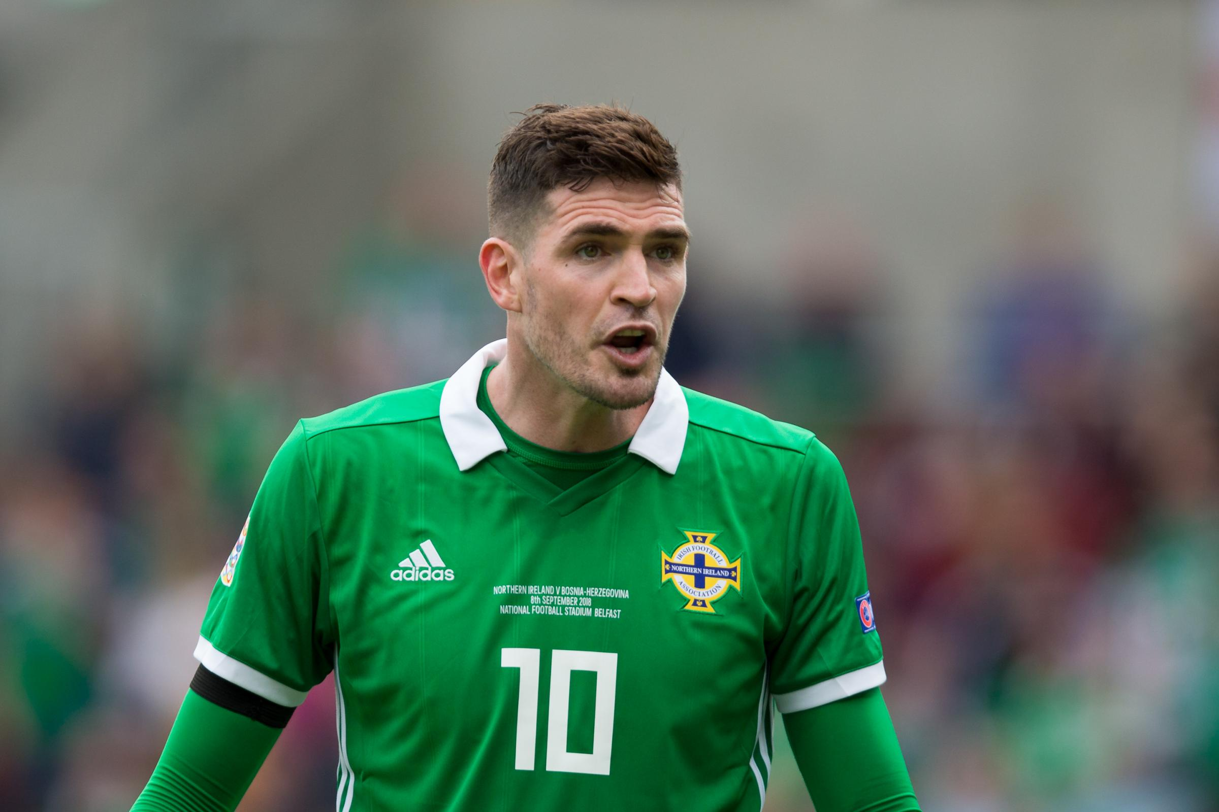 Kyle Lafferty has made himself unavailable for the double header against Austria and Bosnia and Herzegovina