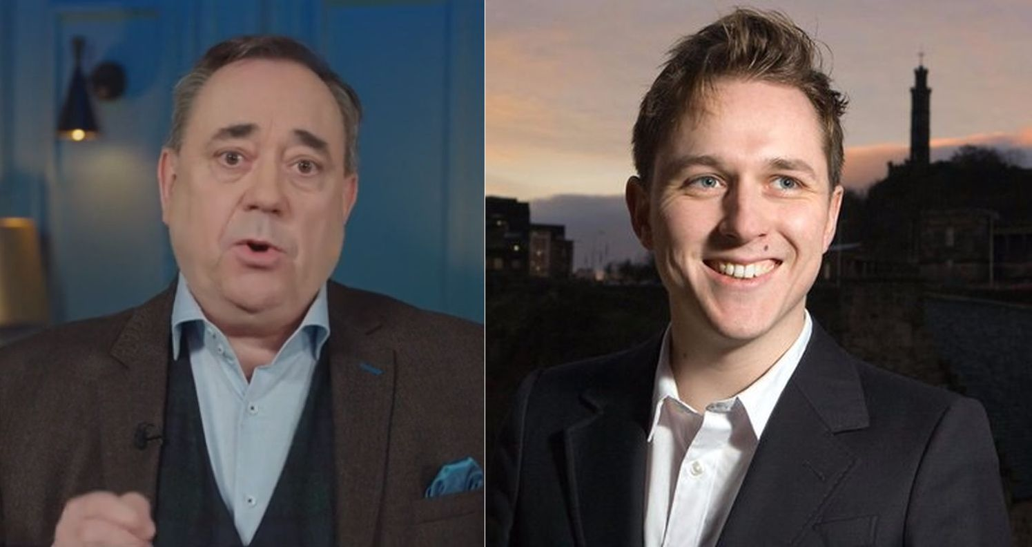 Alex Salmond and Kirk Torrance