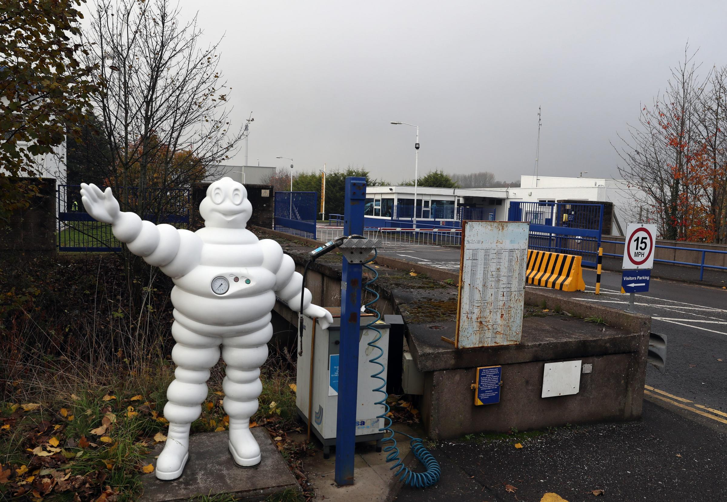 Michelin's Dundee tyre factory. Picture: Andrew Milligan/PA Wire.