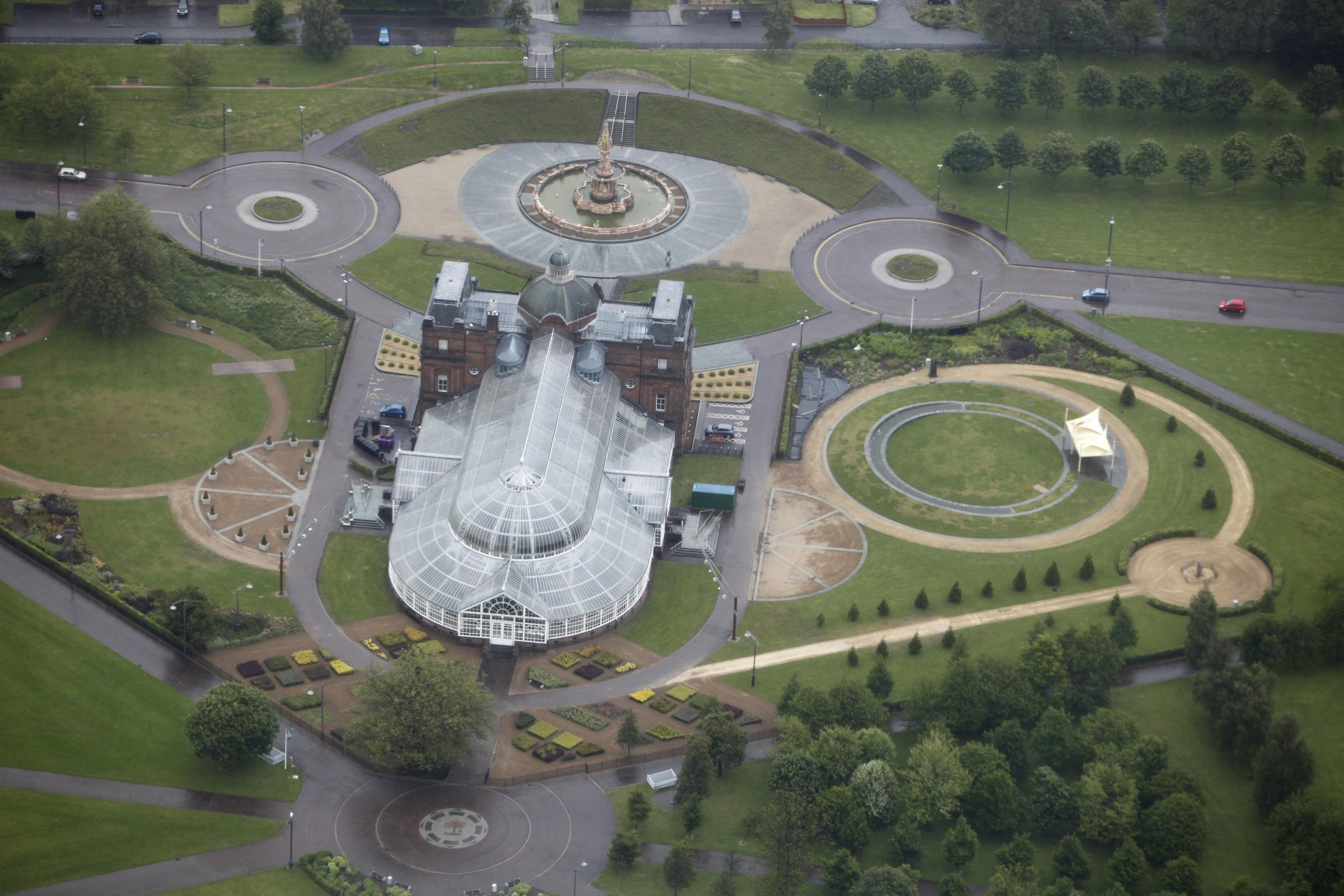 The People's Palace and Glasgow Green.